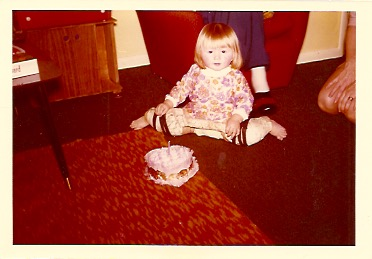 Jill aged 1 in hip spiker