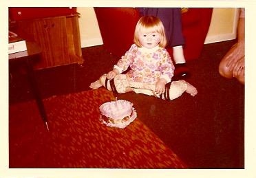 Jill aged 1 in hip spiker