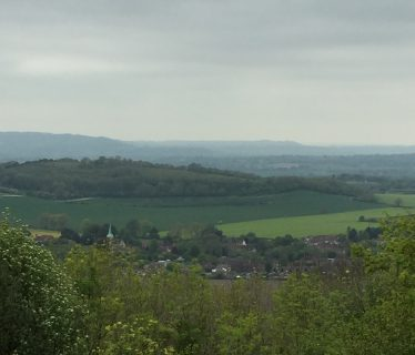 View from Harting Hill