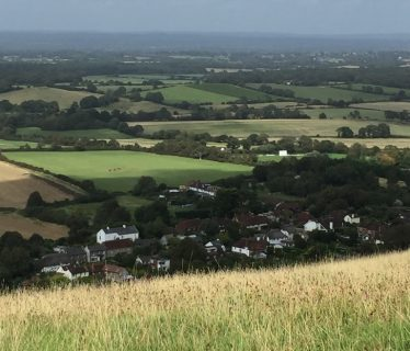 Fulking Village from the SDW