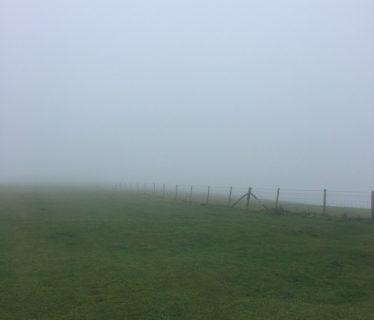 Fog on Firle Beacon