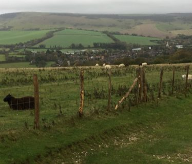 First view of Alfriston