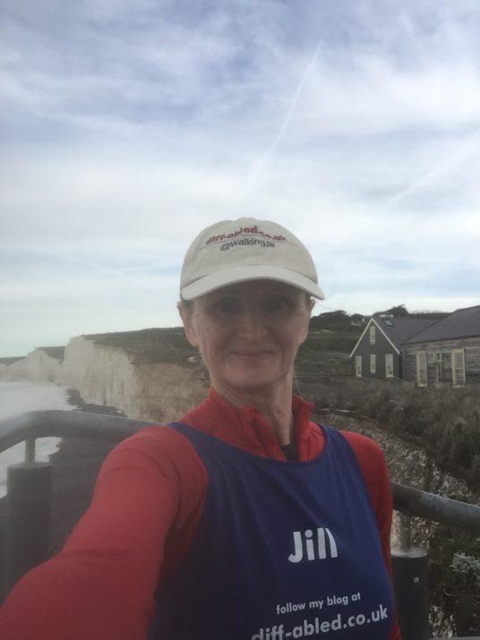 Jill Pringle at Birling Gap Cafe