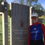 100 miles marker South Downs Way Jill Pringle