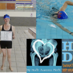 Jill Pringle Swims for Hip Health Awareness